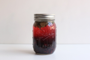 Blackberry-and-mint-infused-water